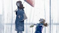 <div>Pernah mengalami ini, Bun? Melihat anak gembira bukan main saat dibolehkan main hujan-hujanan. (Foto: Instagram/pascalcampionart)</div>