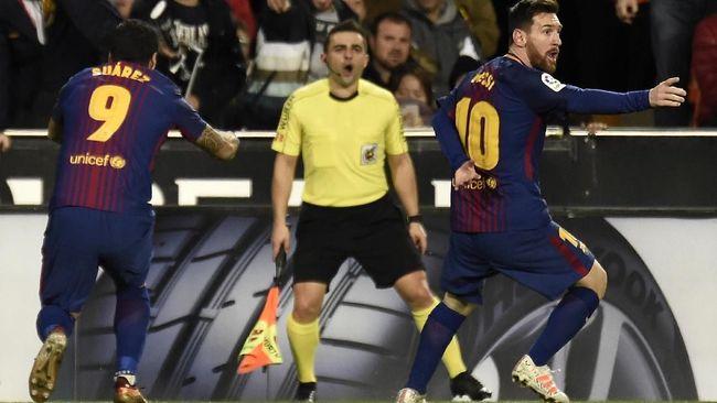 Pelatih Barcelona, Ernesto Valverde menyesalkan keputusan wasit soal gol hantu Lionel Messi. Ia menganggap gol itu seharusnya disahkan.