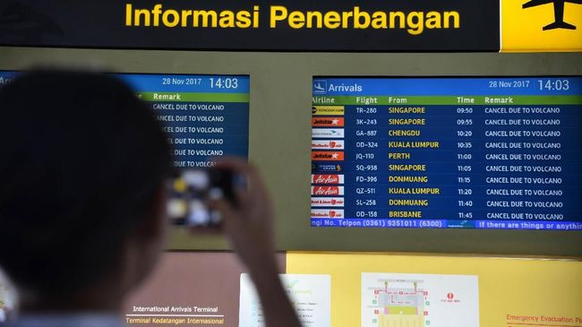Seiring penghentian sementara penerbangan dari Indonesia-China akibat wabah virus corona, tersiar kabar kedatangan pesawat penjemput WN China di Bali.