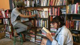 Rumah Kata, Perpustakaan Punk di Sudut Jogja