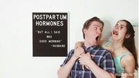 <p>Setelah melahirkan, hormon yang masih naik turun bisa bikin para bunda lebih sensitif. (Foto: Instagram/ @mayavorderstrasse)</p>