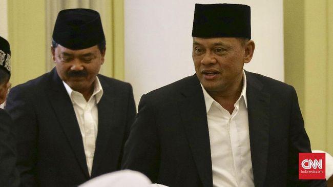 Mantan Panglima TNI Gatot Nurmantyo mengaku optimis hasil revisi UU Terorisme akan mampu menjadi alat untuk memberantas teroris di Indonesia.