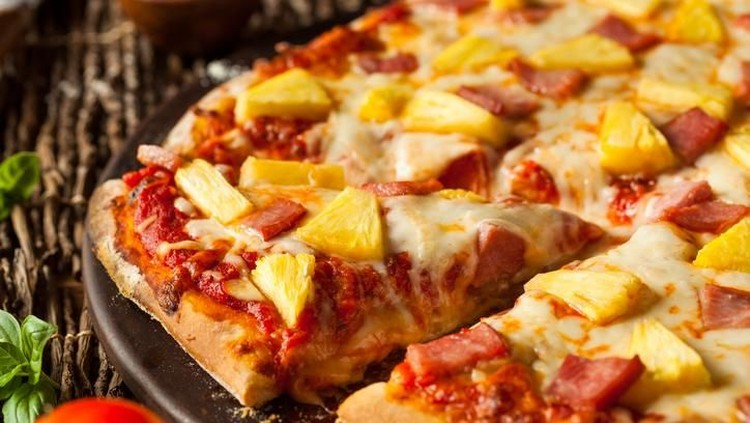 pizza nanas