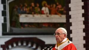 FOTO: Pernyataan Paus Fransiskus yang Mengguncang