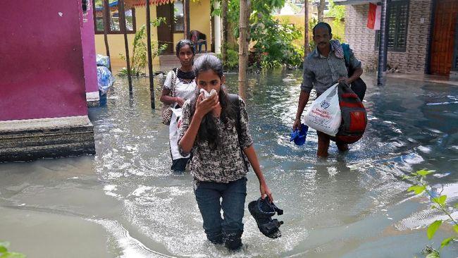 India dan Sri Lanka Diguncang Siklon, 26 Tewas