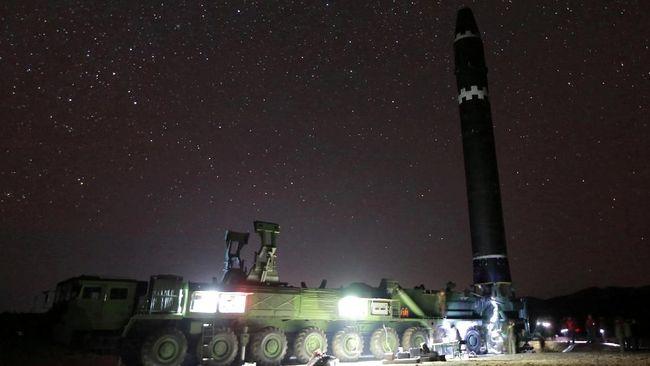 Pangkalan Rudal Korut Terdeteksi Satelit Masih Aktif