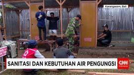 Fasilitas Sanitasi Pengungsi Gunung Agung