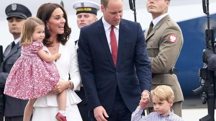 Tentang Pangeran William yang Lebih Dekat dengan Pangeran George