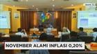 BPS: November Alami Inflasi 0,20%