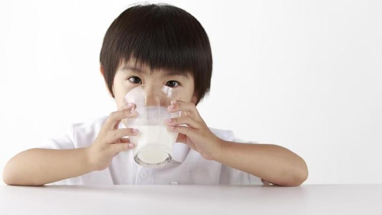 Saat anak doyan banget minum susu sampai nggak mau makan, apa perlu kita biarkan?