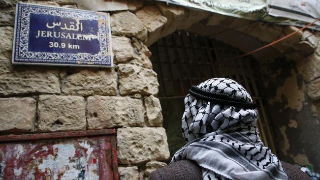 Israel berencana membangun permukiman Yahudi baru di jantung Kota Hebron, Tepi Barat.