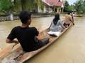 27 Ribu Warga Aceh Mengungsi Akibat Banjir