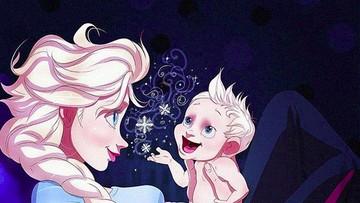 Potret Keseharian Putri Disney Saat Jadi Orang Tua