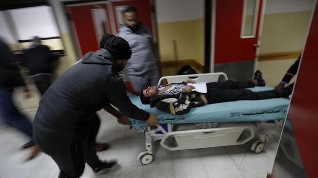 Israel melancarkan serangan balasan yang menyebabkan 25 penduduk Palestina terluka, dengan enam di antaranya adalah anak-anak.