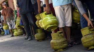 Ledakan di Bogor Berasal dari Kebocoran Elpiji 3 Kg