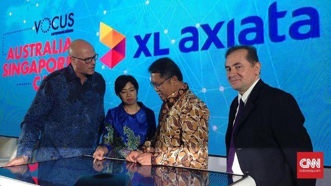 XL menyebut bahwa kabel laut yang tengah dibangun ke Singapura dan Australia akan mempercepat koneksi internet operator itu di akhir 2018.