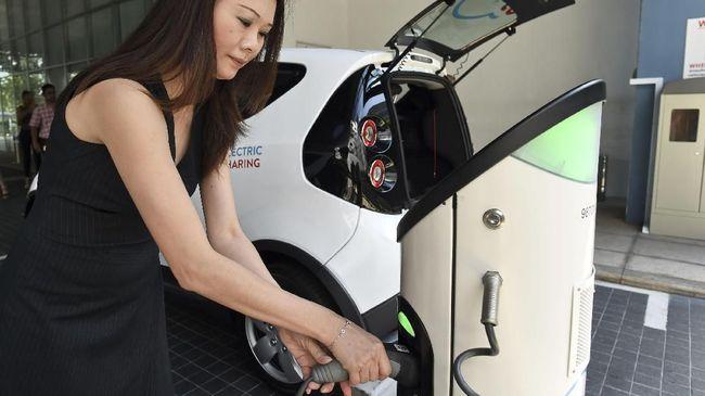 Satu 'Fast Charging' Kendaraan Listrik Butuh Dana Rp143 Juta