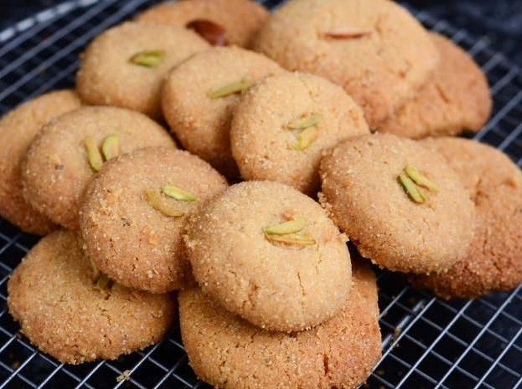 Biskuit yang satu ini berasal dari India dan Pakistan, masyarakat menyebutnya nankhatai. Ssstt kue legendaris ini sudah ada sejak abad ke-16 lho! Foto: Istimewa