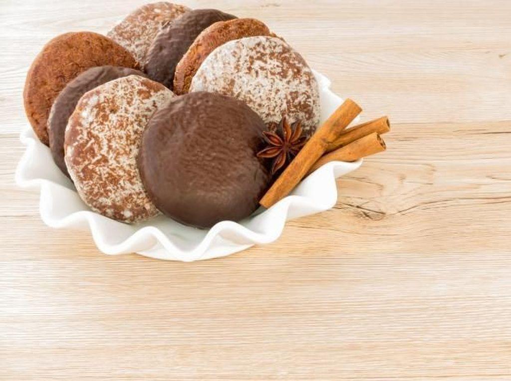 Lebkuchen merupakan kue khas Jerman meskipun aslinya kue ini merupakan gingerbread. Ia punya tekstur yang lebih lembut dibandingkan kukis jahe biasanya. Foto: Istimewa