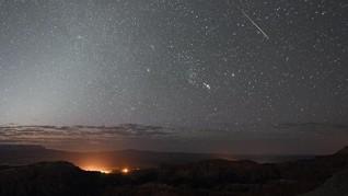 Setelah Norwegia, Meteor Tembus Langit Texas AS dan Meledak