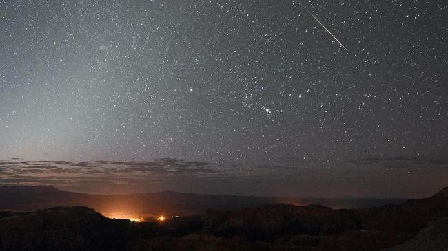 Hujan Meteor Alpha Centauri di RI Malam Ini