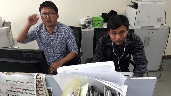 Sekjen PBB Antonio Guterres berharap Myanmar mengampuni dua wartawan Reuters yang dihukum tujuh tahun penjara karena memberitakan pembantaian Rohingya.