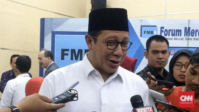 Jelang Pemilu 2019, Menag Minta Tak Ada Politisasi Isu Agama