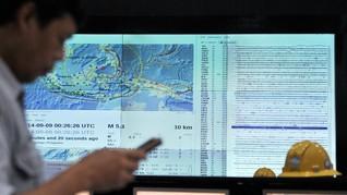Analisa BMKG Soal Gempa Magnitudo 6,2 Maluku Tengah