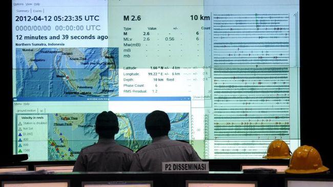 Daftar sejumlah wilayah di Jawa Timur yang bisa kena tsunami dengan gelombang maksimum 29 meter seperti di Pacitan.
