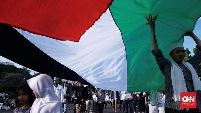 Kedubes Palestina di Jakarta meminta dukungan pemerintah Indonesia untuk mengakhiri kejahatan Israel.