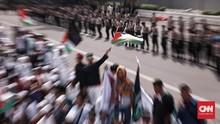 Polri Kirim Ribuan Personel Kawal Aksi Solidaritas Palestina