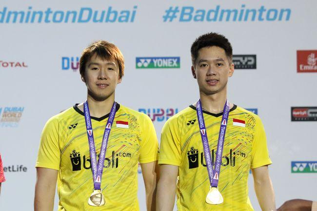 Kevin Sanjaya/Marcus Fernaldi Gideon menjadi alasan utama di balik keberhasilan Indonesia bersaing dalam perburuan titel juara Super Series/Premier musim ini.