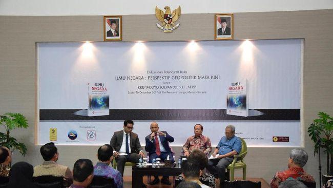 Bahas Dinamika Geopolitik, Kris Wijoyo Soepandji Rilis Buku