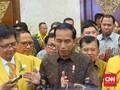Kelakar Jokowi soal Cawapres: Di Dekat Saya Ada Airlangga