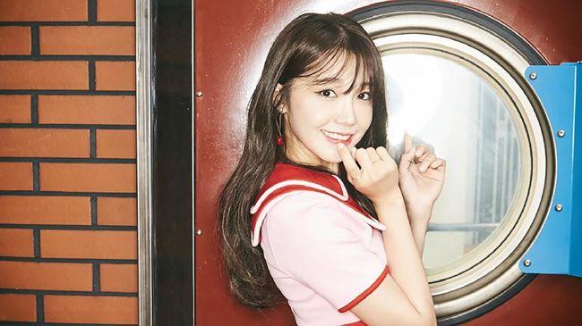 Anggota Apink, Jung Eun-ji membantah kabar yang menyebut dirinya berpacaran dengan personel X1, Han Seung-woo.