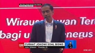 VIDEO: Jokowi Akui Kalah Saing dengan Bisnis Sang Anak
