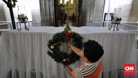 Nuansa Misa Adven di Katedral dan Pengamanan Jelang Natal