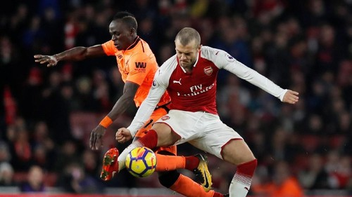 Arsenal vs Liverpool Sama Kuat