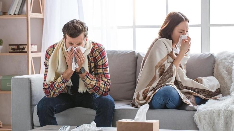 Video Ini Ungkap Bedanya Saat Suami dan Istri Mengalami Flu