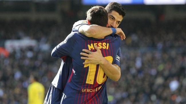 Barcelona Kalahkan Real Madrid 3-0 di El Clasico