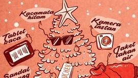 10 Inspirasi Kado Natal untuk Pelancong