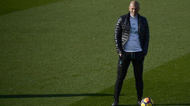 Madrid Juara Piala Super Spanyol, Rekor Zidane Masih Sempurna