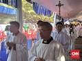 10 Ribu Jemaat Diperkirakan Hadiri Misa Puncak di Katedral