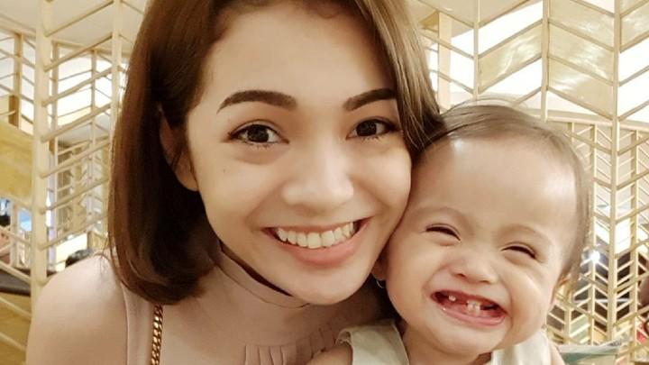 <p>Senyumnya manis banget, Nak. (Foto: Instagram/mayaseptha7)</p>