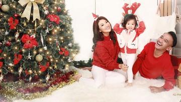 Begini Suka-cita Perayaan Natal Keluarga Selebriti