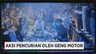 Aksi Pencurian di Toko Pakaian oleh Geng Motor di Depok