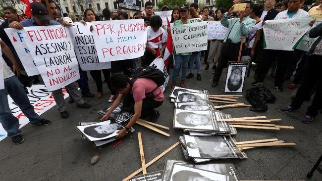 Pengadilan Batalkan Grasi Eks Presiden Peru Alberto Fujimori