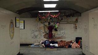 FOTO: Tak Ada Natal Bagi Tunawisma London