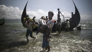 500 Pengungsi Rohingya Terpantau di Perairan Andaman