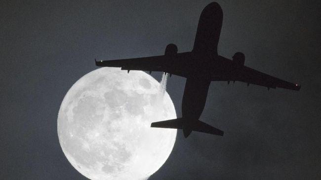 Peristiwa yang terjadi pada hari ini dikenal dengan 'Snow Moon' yang akan menjadi bulan purnama terdekat tahun ini.